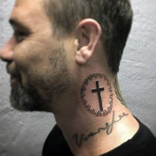 Cross Neck Tattoos