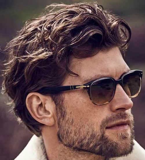 Haircuts For Thick Wavy Hair Guys