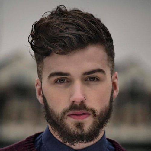 How To Style Wavy Hair Men