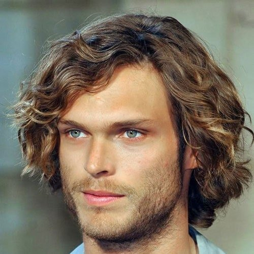 Men's Long Wavy Hairstyles