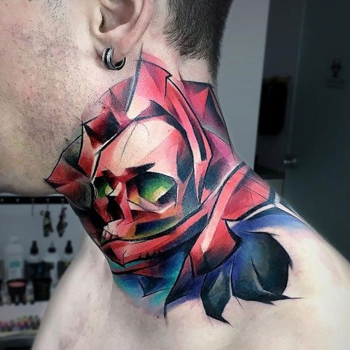 Neck Piece Tattoos