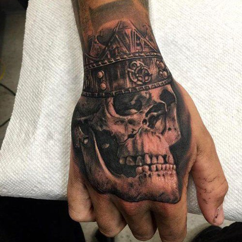 Popular Skull Tattoo Designs For Guys