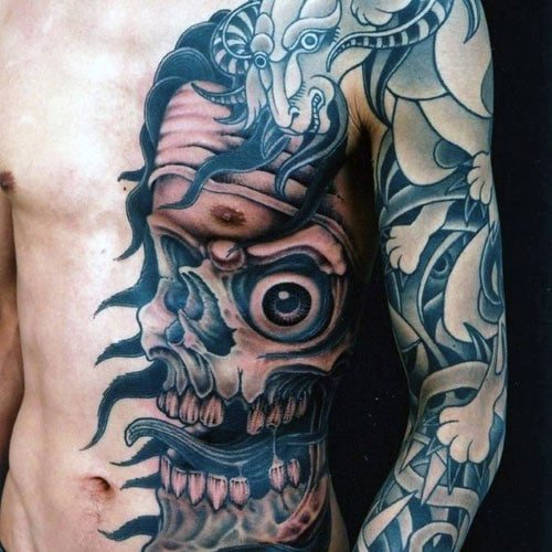 Side Chest Tattoo