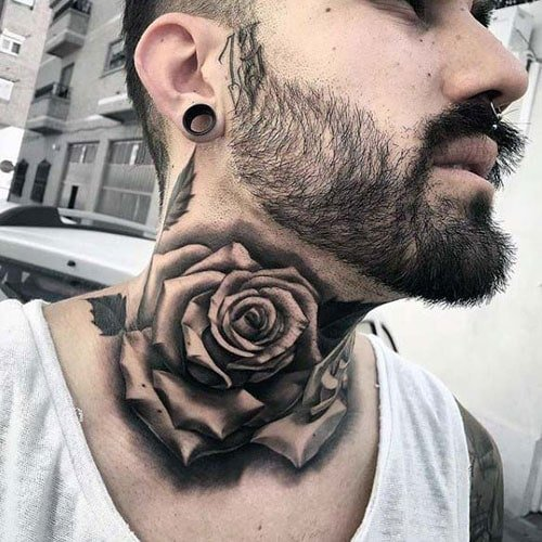 Side Neck Tattoos