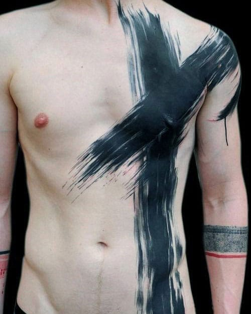Simple Chest Tattoo Ideas For Guys