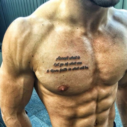 Small Chest Tattoos
