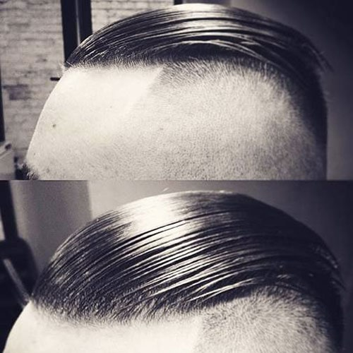 Styling A Slicked Back Hairstyle
