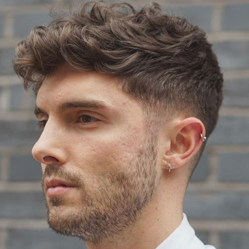 Styling Wavy Hair For Men