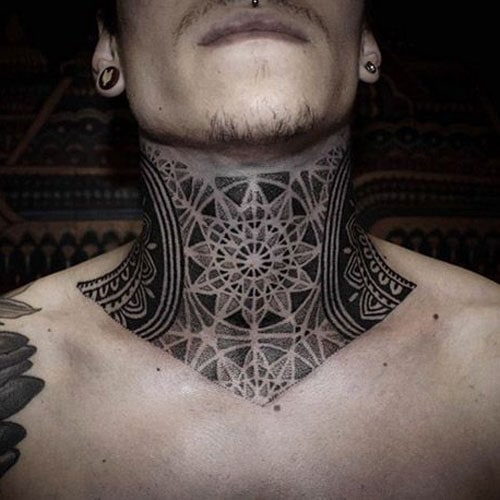 Tattoo Around Neck