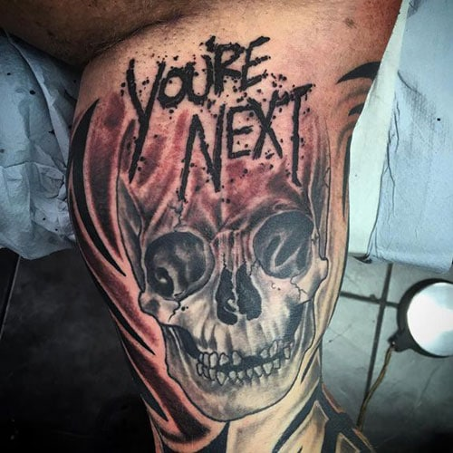 Unique Skull Tattoos