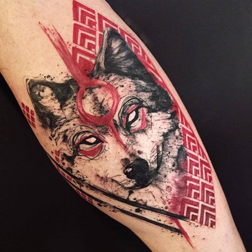 Unique Wolf Tattoo Designs