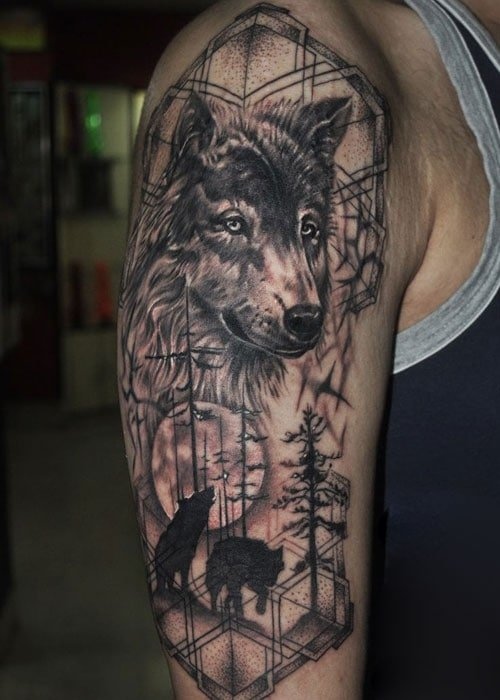 Wolf Spirit Tattoo