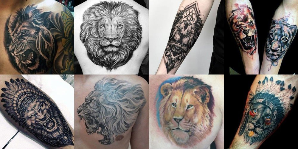 0f47908ab 125 Best Lion Tattoos For Men: Cool Designs + Ideas (2019 Guide)