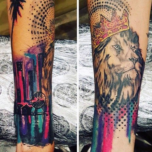 125 Best Lion Tattoos For Men Cool Designs Ideas 2019 Guide