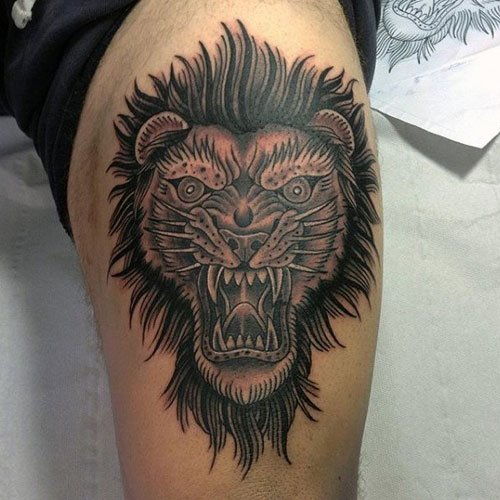 Creative Lion Tattoo Designs