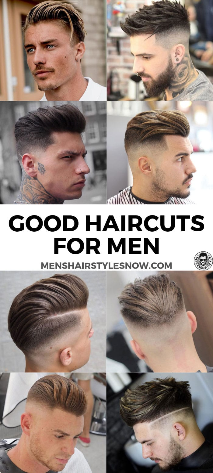 Good Haircuts For Men (2020 Guide) | Men\'s Haircuts + ...