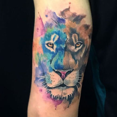 Gorgeous Watercolor Tattoo on Arm