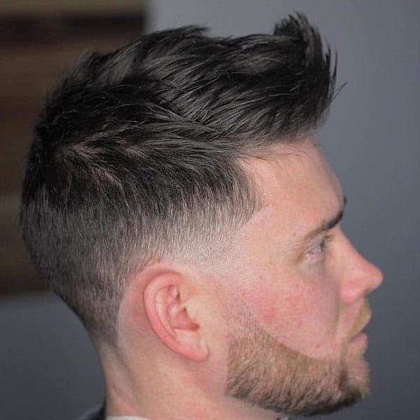Low Taper Fade Haircut