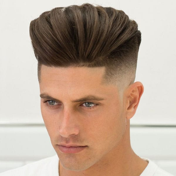 Pompadour Fade Hairstyle