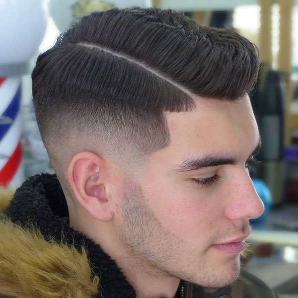 Side Part Fade Haircut
