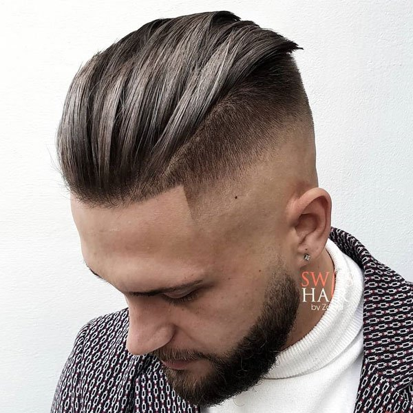 Slick Back Undercut Fade