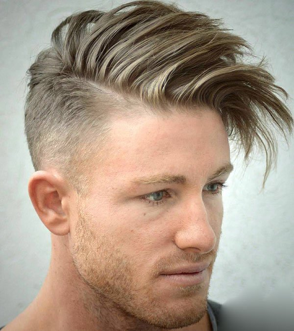Taper Haircut with Long Hair on Top