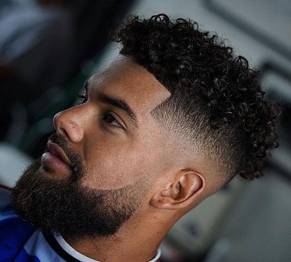 Black Taper Haircut Fade 18