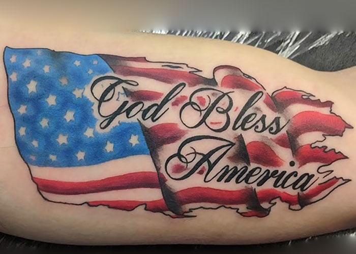 American Flag Tattoo Ideas
