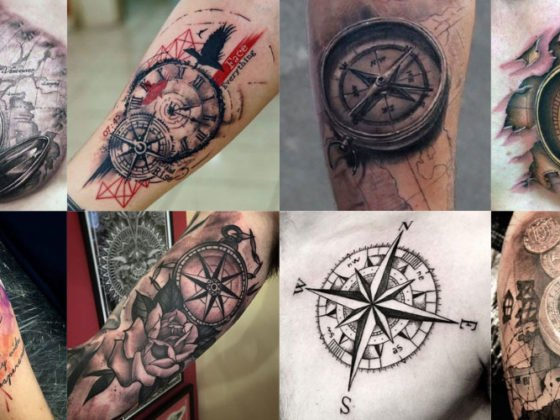Best Compass Tattoos For Men