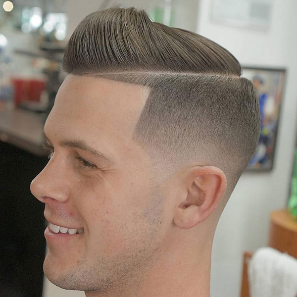 High Taper Fade Line Up