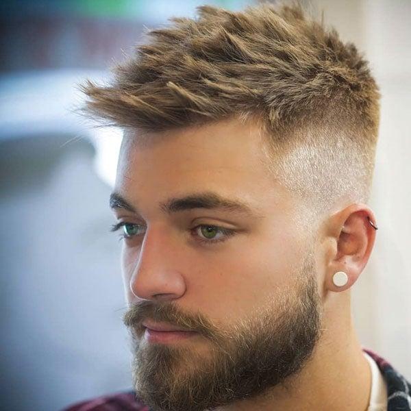 High Taper Fade Short Hair