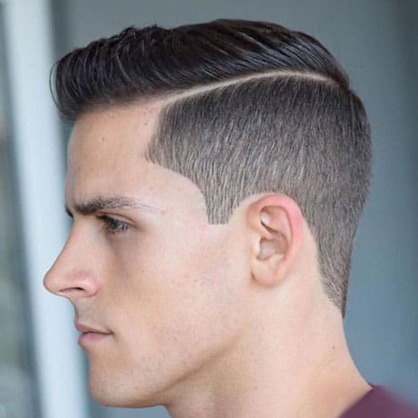 High Taper Haircut