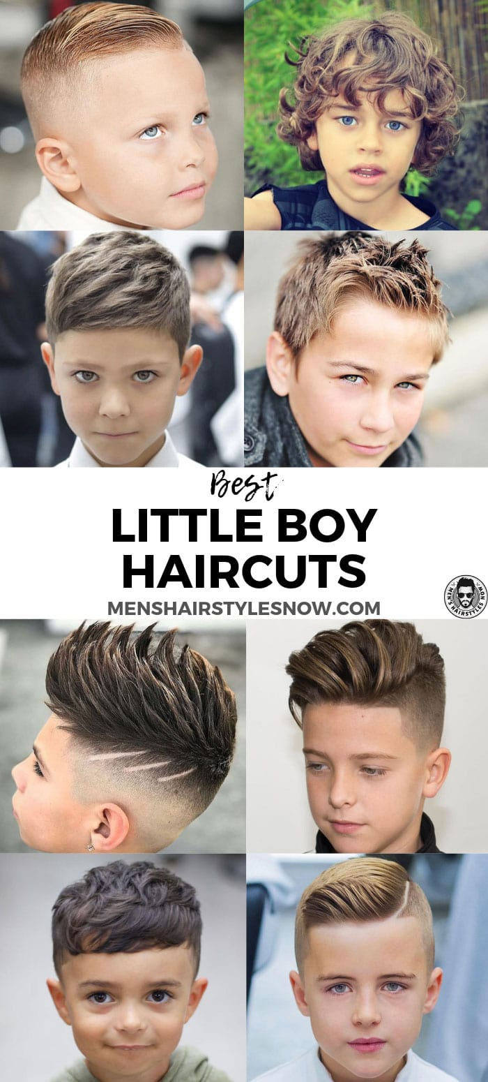 35 Cute Little Boy Haircuts + Adorable Toddler Hairstyles (2020 Guide)