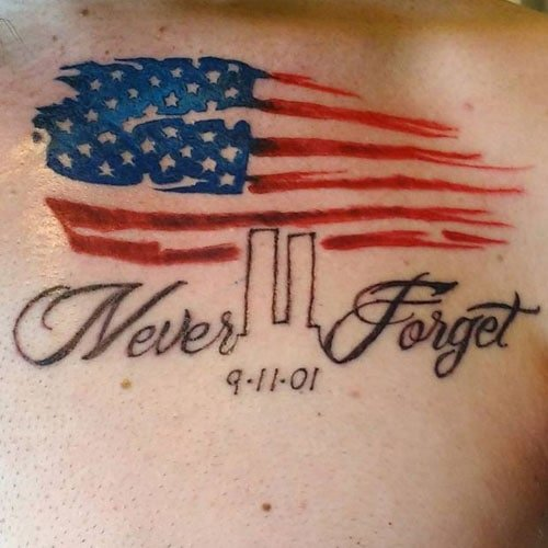 Patriotic Flag Tattoo Ideas