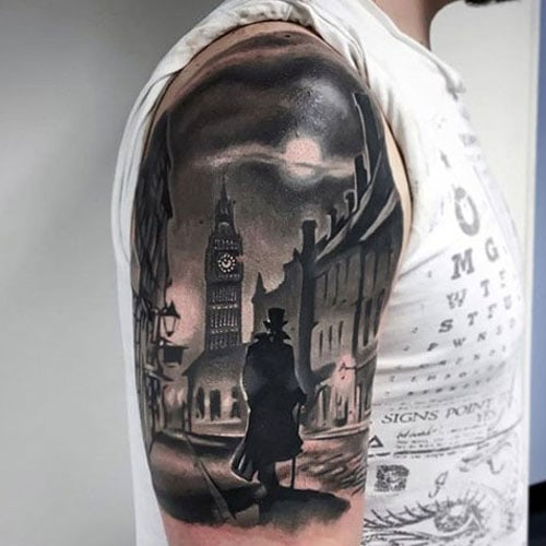 Amazing 3D Half Sleeve Tattoo Ideas For Guys