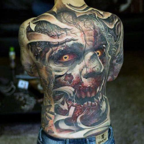 Amazing Back Piece Tattoo Ideas