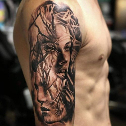 Amazing Half Sleeve Tattoo Designs