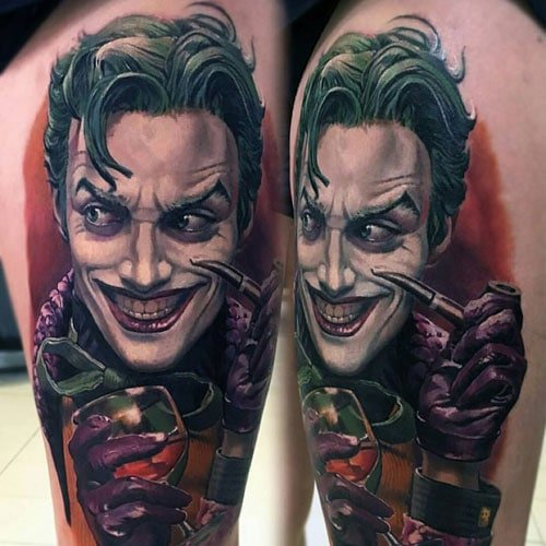 Amazing Joker Half Sleeve Tattoo Ideas For Guys