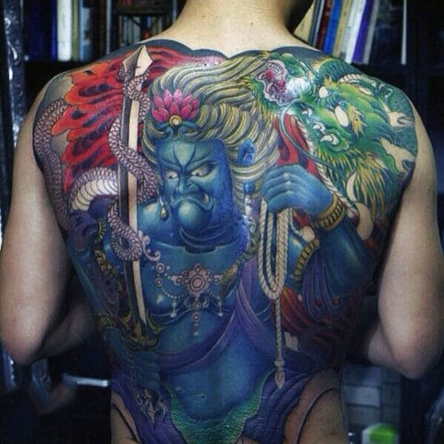 Awesome Back Tattoo Designs For Guys