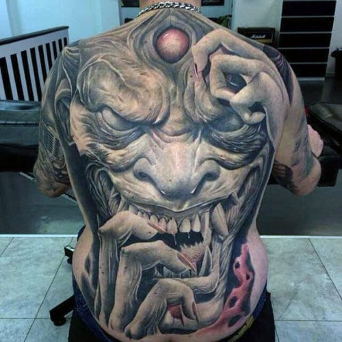 Awesome Back Tattoo Ideas For Men