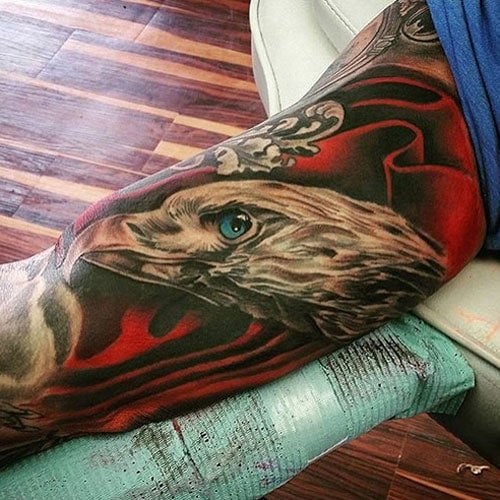 Awesome Upper Arm Bicep Tattoo Ideas