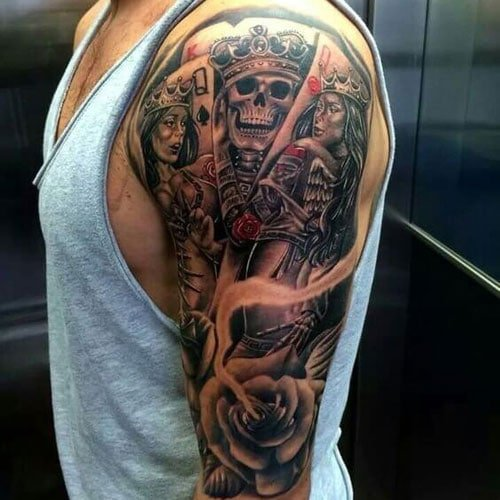 Badass Half Sleeve Tattoo Designs For Guys