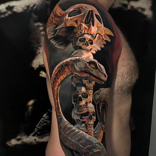 Badass Half Sleeve Tattoo Ideas For Men