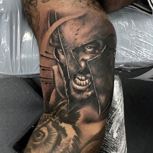 Badass Inner Arm Bicep Tattoos