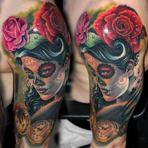 Beautiful Half Sleeve Tattoo Designs