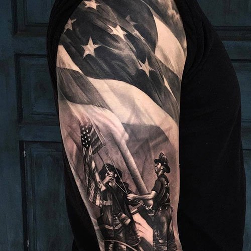 Best American Traditional Tattoo Sleeve