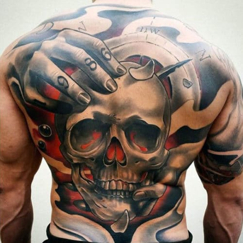 Best Back Tattoo Designs For Guys