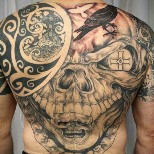 Best Back Tattoos For Guys