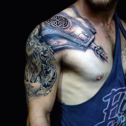 Best Quarter Sleeve Tattoo Ideas