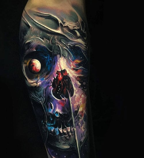 Best Skull Half Sleeve Tattoo Ideas For Men